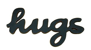 HUGS Word Decor