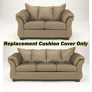 ashley darcy replacement cushion cover only 7500238 or 7500235 mocha. Black Bedroom Furniture Sets. Home Design Ideas