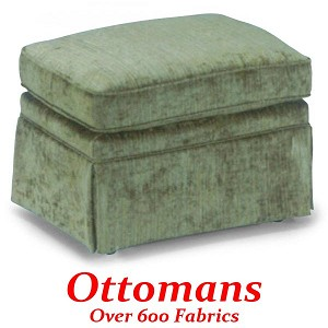 Ottoman with Casters
