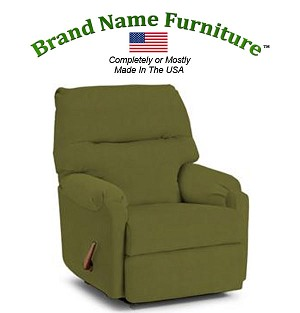 Green Recliner Chair Rocker