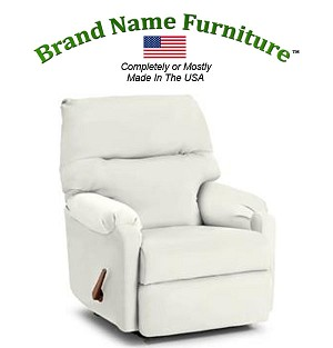White Recliner Chair Rocker