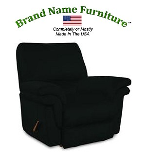Black Recliner Chair Rocker