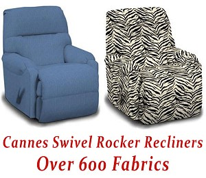 Cannes Swivel Rocker Recliner