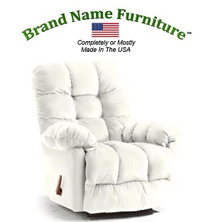 White Recliner Chair Wallhugger
