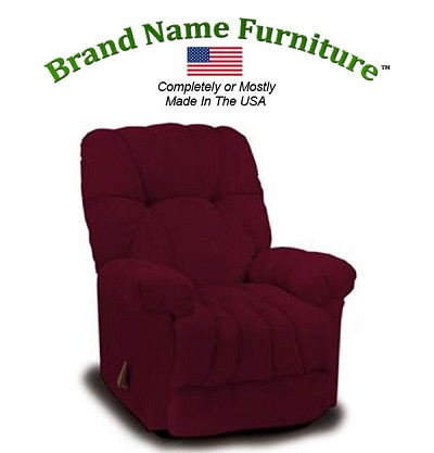 Red Recliner Chair Rocker