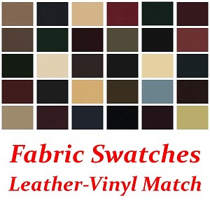 Leather-Vinyl Match Swatches