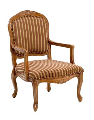 Franklin Accent Chair with French Provincial Styling