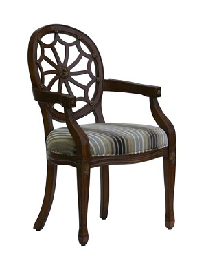 Addison Heirloom Spider Back Accent Chair