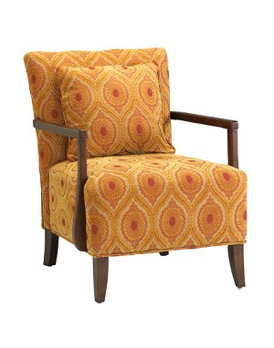 Dante Transitional Arm Accent Chair