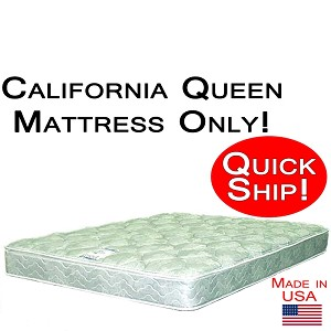 Quick Ship! California Queen Size Abe Feller® Mattress Only GOOD