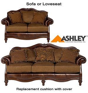 ashley claremore replacement cushion cover 8430338 sofa or 8430335 love. Black Bedroom Furniture Sets. Home Design Ideas