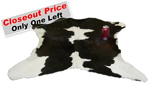 Closeout - Authentic Calfhide Rug