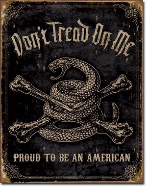 DTOM - Proud American Tin Sign