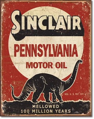 Sinclair - Million Years Tin Sign