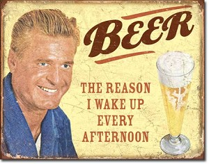 Ephemera - Beer - The Reason Tin Sign