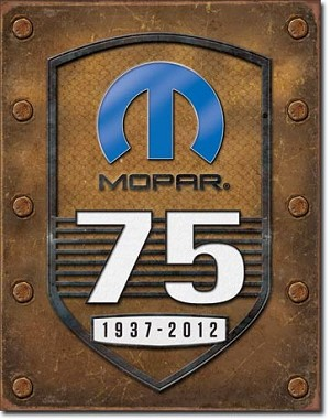 MOPAR - 75th Anniversary Tin Sign