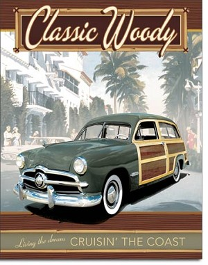FORD - Classic Woody Tin Sign