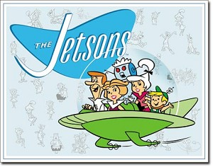 Jetson's Family Tin Sign