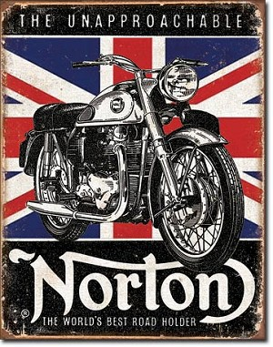 Norton - Best Roadholder Tin Sign