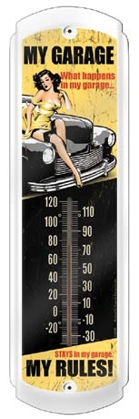 My Garage Thermometer