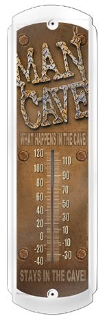 Man Cave Thermometer