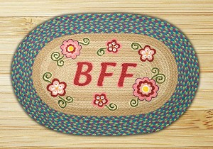 Oval Patch BFF Braided Earth Rug®