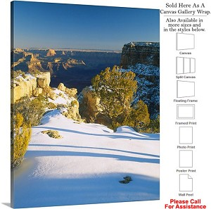 "Grand Canyon Park American Landmark in Arizona-5 Canvas Wrap 19"" x 24"""