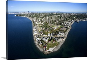 Seattle, Washington Peninsula Panorama Picture
