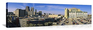 Grady Memorial Hospital Atlanta Georgia Panoramic Picture