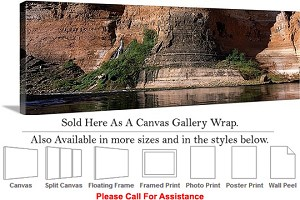 "Grand Canyon National Park in Arizona Landscape-56 Canvas Wrap 48"" x 16"""