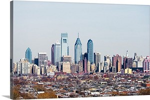 Philadelphia, Pennsylvania Center City Panorama Picture