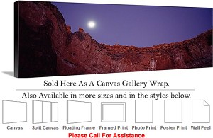 "Grand Canyon National Park in Arizona Landscape-84 Canvas Wrap 48"" x 17"""