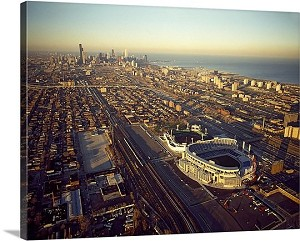 Chicago, Illinois New Comiskey Park Panorama Picture