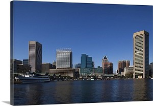 Baltimore, Maryland World Trade Center Inner Harbor Panorama Picture