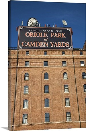 Baltimore, Maryland Baseball Park Oriole Park at Camden Yards Panorama Picture