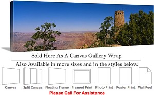 "Grand Canyon National Park in Arizona Landscape-80 Canvas Wrap 48"" x 16"""