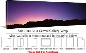 "Grand Canyon National Park in Arizona Landscape-81 Canvas Wrap 48"" x 16"""