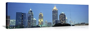 Skyline Atlanta GA Panoramic Picture