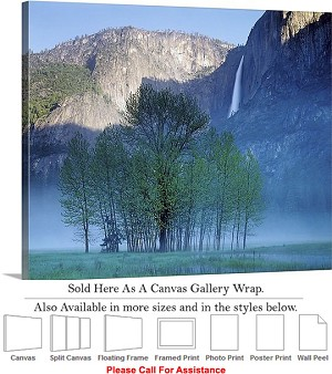"Yosemite National Park an American Landmark CA-8 Canvas Wrap 30"" x 23"""