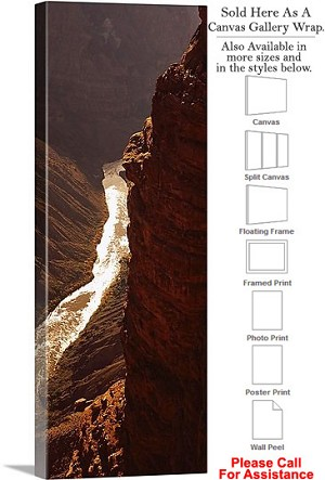 "Grand Canyon National Park in Arizona Landscape-36 Canvas Wrap 17"" x 48"""