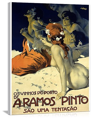 A. Ramos Pinto Vintage Printed On Canvas