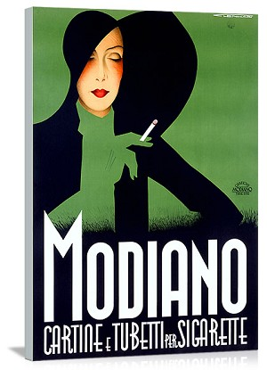 Modiano Vintage Printed On Canvas