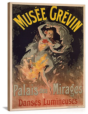 Musee Grevin Palais Mirages Vintage Printed On Canvas