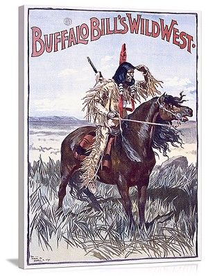 Buffalo Bills Wild West Vintage Printed On Canvas