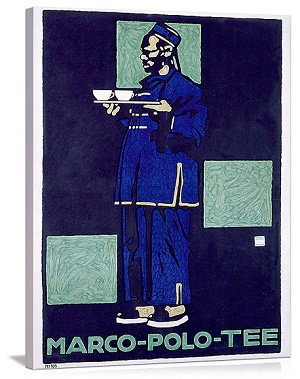 Marco Polo Tea Vintage Printed On Canvas