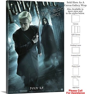 "Harry Potter and the Half Blood Prince Movie Art-2 Canvas Wrap 20"" x 30"""