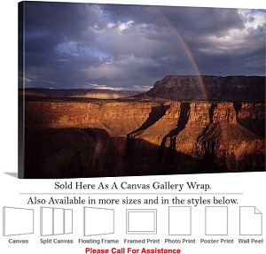 "Grand Canyon National Park in Arizona Landscape-16 Canvas Wrap 30"" x 20"""