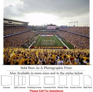 "University of Minnesota Football at Bank Stadium Photo Print 24"" x 18"""