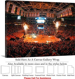 "University of Tennessee at Thompson Boling Arena Canvas Wrap 30"" x 23"""