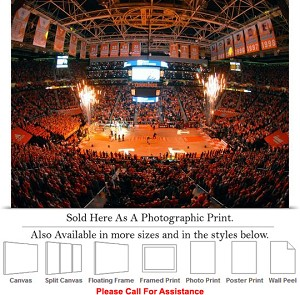 "University of Tennessee at Thompson Boling Arena Photo Print 24"" x 18"""